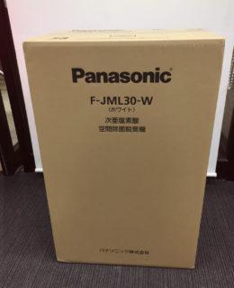 Panasonic F-JML30-W 空間除菌脱臭機ジアイーノ